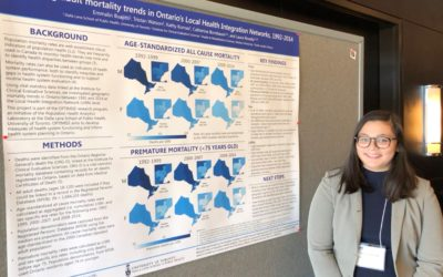 Emma Buajitti maps adult mortality trends in Ontario