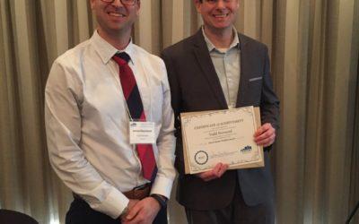 Todd Norwood Wins Elaine Hector Student Award
